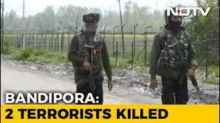 2 Terrorists Killed In Jammu And Kashmir's Bandipora - NDTV