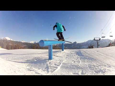 A Morning at the Terrain Park | Durango Mountain Resort