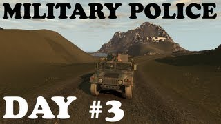 GTA IV: LCPDFR -- Military Police -- On Patrol -- Day #3 -- It wont turn!