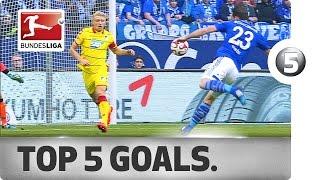 أجمل 5 أهداف في الجولة الـ24 من الدوري الألماني