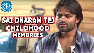 Sai Dharam Tej Shares Childhood Memories with Mega Family || Subramanyam For Sale Movie - IDREAMMOVIES