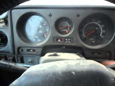 Toyota Land Cruiser hj61 coldstart -31c