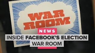 Step inside Facebook's election war room - CNETTV