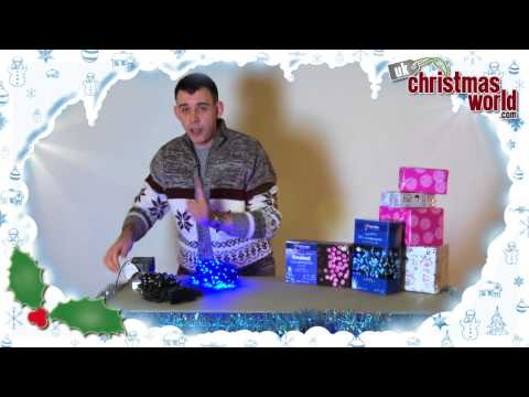 LED Frosted Supabright Christmas Lights - UK Christmas World
