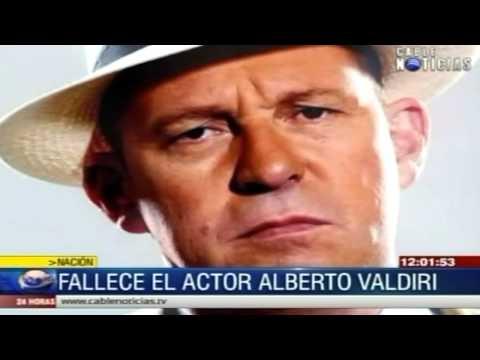 Falleció el actor colombiano, Alberto Valdiri