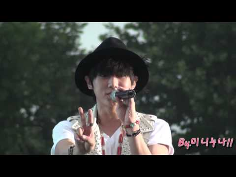 [Fancam] 110814 BEAST Hyunseung - Oasis @ United Cube Concert