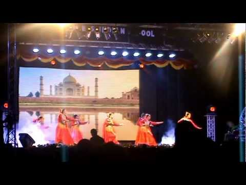 MES INDIAN SCHOOL 2012 ANNUAL DAY, 1st PRIZE WINNING DANCE , REFLECTION - AN ARAB INDIAN FUSION