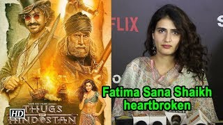 Fatima Sana Shaikh heartbroken with ' Thugs Of Hindostan' failure - IANSINDIA