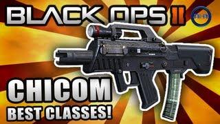 "Black Ops 2 ""CHICOM CQB"" - Best Class Setup (Rushing Class) - Map Pack Multiplayer Gameplay"