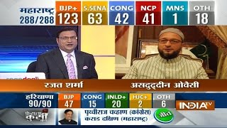 Asaduddin Owaisi speaks with India TV Exclusively. - INDIATV