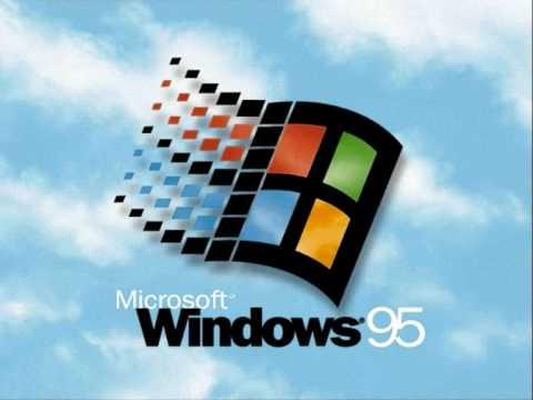 Dźwięk uruchamiania Windowsa 95.