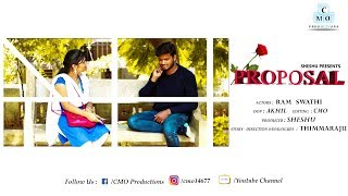 Proposal Telugu Short Film || Filmy Hub || Directed by Thimmaraju || CMO Productions - YOUTUBE