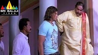 Koothuru Kosam Movie Police and MLA Scene    R Narayan Murthy - SRIBALAJIMOVIES