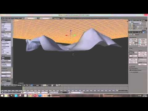 Blender Retopology Terrain Tutorial