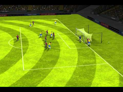 FIFA 14 iPhone/iPad - Brazil vs. Colombia