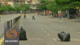Millions heed anti-Maduro shutdown in Venezuela - REUTERSVIDEO