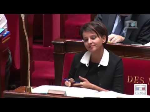 Najat Vallaud Belkacem / P.Gomès : Opposition sur le budget de l