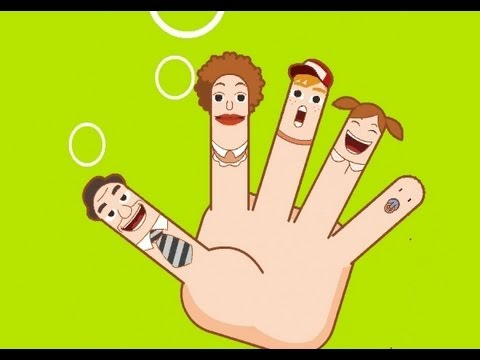 Muffin Songs - The Finger Family (Daddy Finger) - Original Version | children songs with lyrics