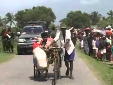 Rohingya Exodus 2012