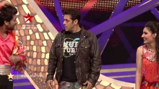 Watch Salman Khan do his signature step with Ripu - Shivangi