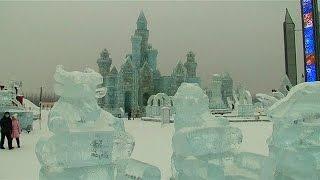 مهرجان الثلج والجليد الدولي بالصين