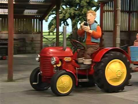 Czerwony traktor   Wichura...