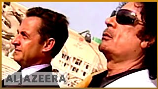 🇫🇷 France's Nicolas Sarkozy held over Gaddafi funding claims | Al Jazeera English - ALJAZEERAENGLISH
