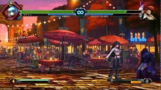 The King of Fighters XIII: Console Combo Showcase view on youtube.com tube online.