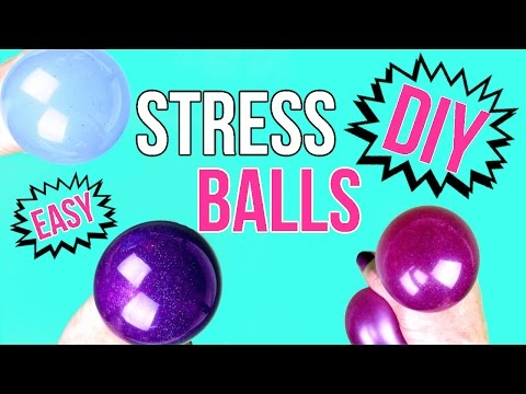 DIY Crafts: How To Make A Squishy Stress Ball - Easy