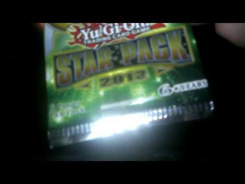 Yu-Gi-Oh! Trading Card Game Unwrapping: Star Pack 2013