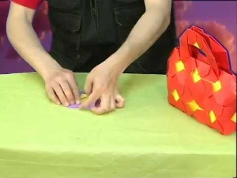 Bolso en origami (Y & K. Shumakov) en Canal 5 ¡Tu Canal!