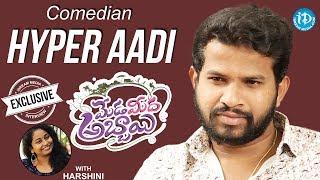 Comedian Hyper Aadi Exclusive Interview || Meda Meeda Abbayi || Talking Movies With iDream - IDREAMMOVIES