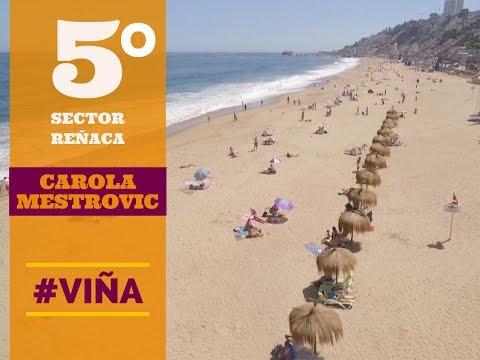 Carolina Mestrovic desde el Sector 5 de Reñaca - Viña del Mar - Chile