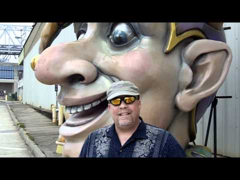 Mardi Gras World In New Orleans Intro By @VegasBiLL 9-19-11