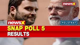 Lok Sabha Elections 2019, NewsX Polstrat Snap Polls: PM Narendra Modi vs Rahul Gandhi,Who's leading? - NEWSXLIVE