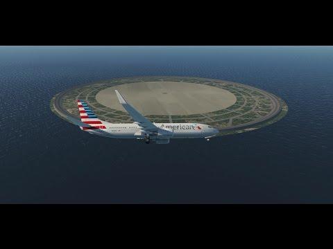 Landing on a Circular Runway in Xplane !!