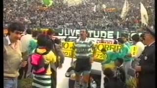 Reportagem sobre o antes, durante e depois do Sporting - Benfica de 1989/1990