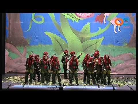 La agrupación Carnívoras llega al COAC 2015 en la modalidad de Comparsas. Primera actuación de la agrupación para esta modalidad.