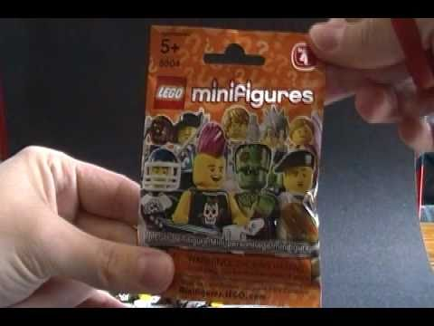 Opening Lego Minifigures Series 4 Mystery Packs