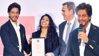 #BollywoodNews: शिक्षा और महिला सशक्तिकरण को लेकर सुने शाहरुख खान की राय