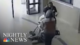 Video 11-Year-Old With Autism Being Dragged Through School Teacher & School Nurse | NBC Nightly News - NBCNEWS