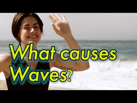 What causes Waves? | Tsunami/Tidal Waves | Earth Science