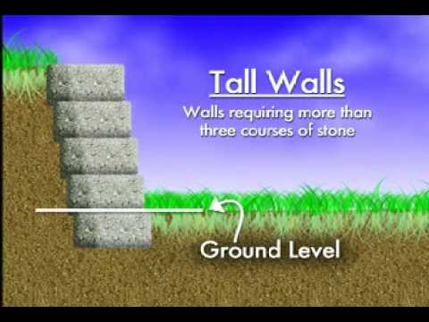 How do I build a retaining wall?