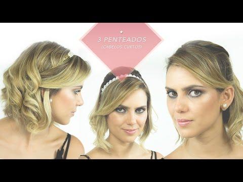Aprenda a fazer 3 penteados para cabelos curtos | Débora Nogueira