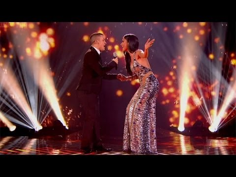 Jahmene and Nicole sing Whitney Houston's The Greatest Love - The Final - The X Factor UK 2012
