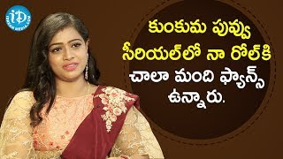 My Role in Kumkuma Puvvu Serial is Well Received - Serial Actress Anu Sri | Soap Stars With Anitha - IDREAMMOVIES