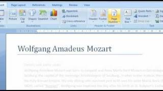 how to give a professional look to your document in word 2007 wwwexplaniacom youtube