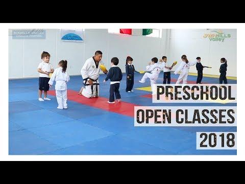 Preschool Open Classes 2018