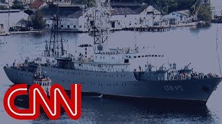 Russian spy ship heading toward US - CNN