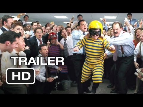 The Wolf of Wall Street TRAILER 1 (2013) - Martin Scorsese, Leonardo DiCaprio Movie HD